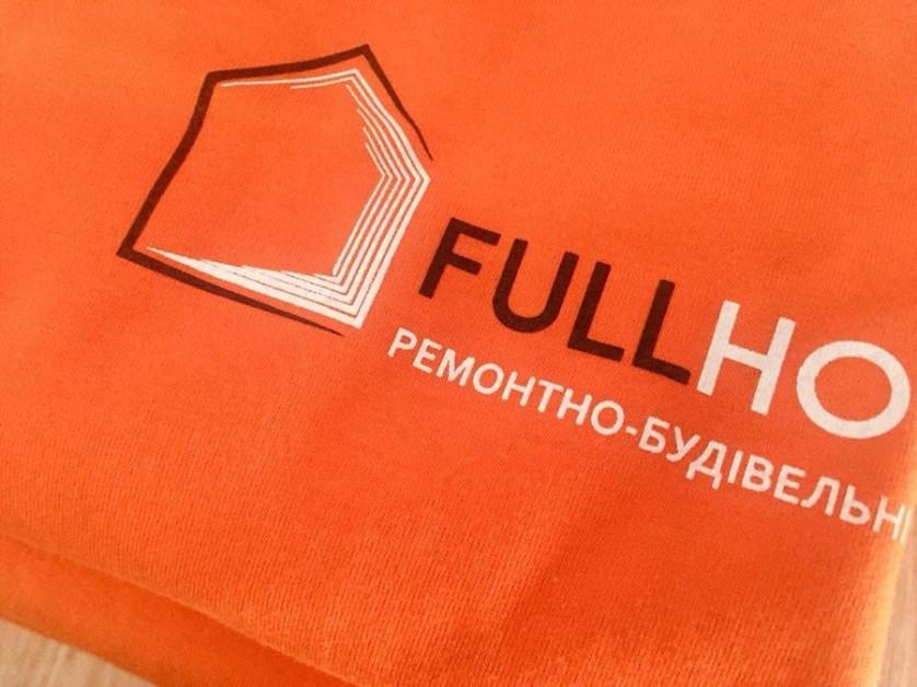 Футболки з логотипом для будівельної компанії зображення 1