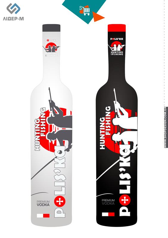 дизайн Етикетки для алкогольних напоїв для ТМ Poliska зображення 2