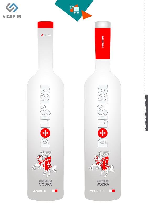 дизайн Етикетки для алкогольних напоїв для ТМ Poliska зображення 1