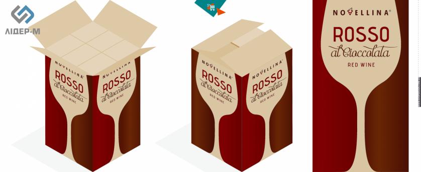 дизайн Упаковки для алкогольних напоїв для ТМ Novellina зображення 2