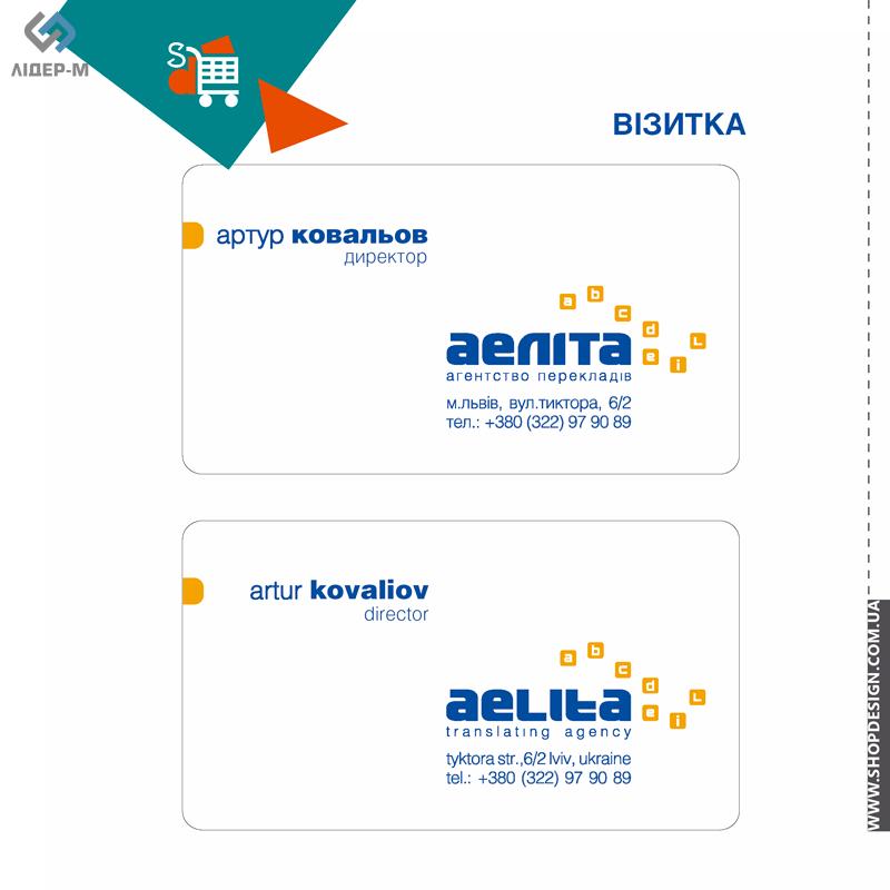 дизайн Фірмового стилю. «Економ» пакет для компанії «Аеліта» зображення 4