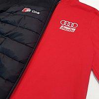 Нанесення логотипу Audi на куртку та світшот
